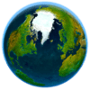 3Planesoft - Erde 3D Grafik