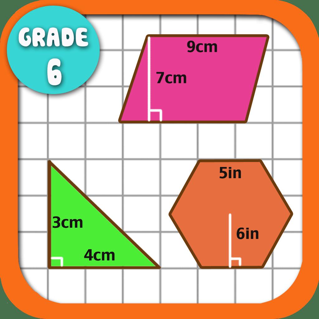 Kids Math Area Worksheets Grade 6 By Shixian Li