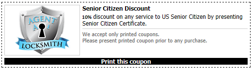 Senior Coupon