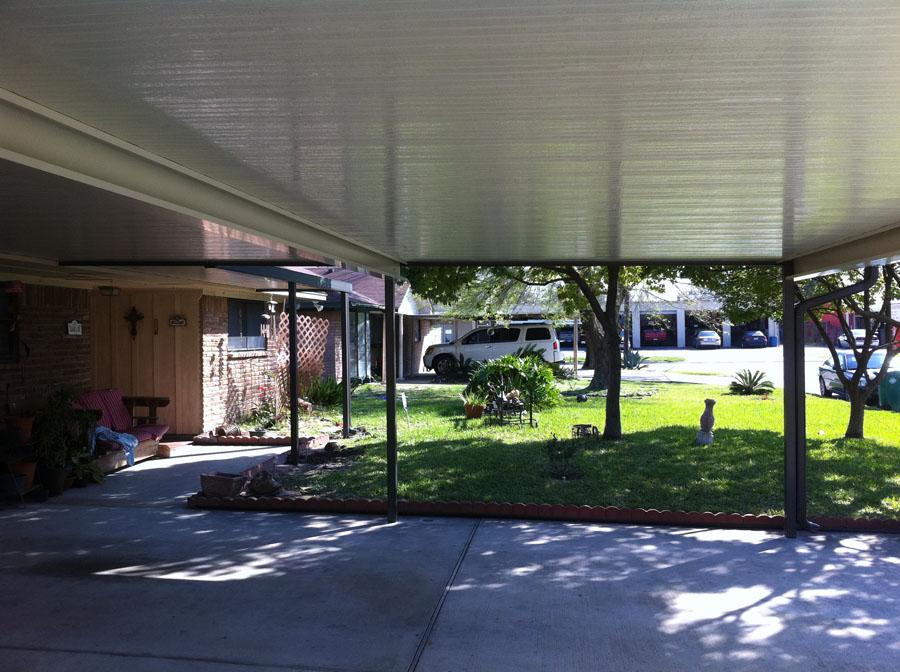 Aluminum Carport And Walkway Cover Pasadena A 1