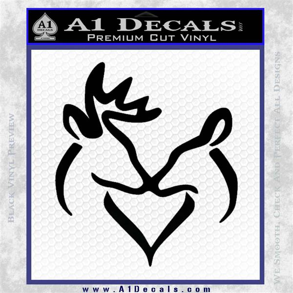 Download Browning Buck Doe Love Decal Sticker » A1 Decals