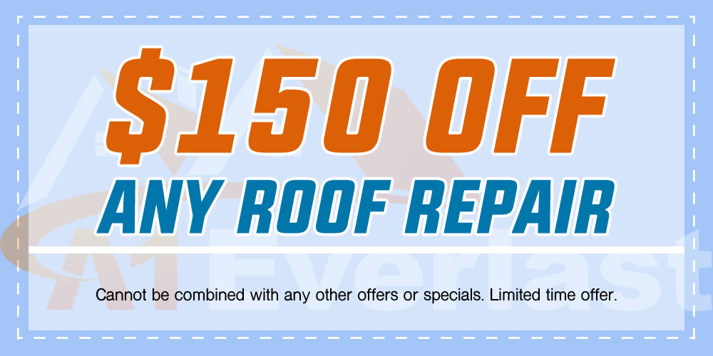 $150 Off Any Roof Repair
