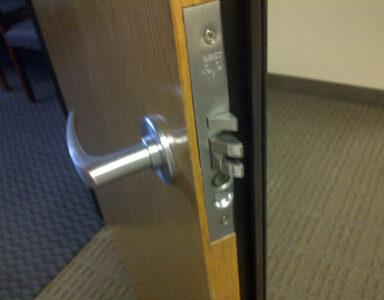 Mortise lock, Inside
