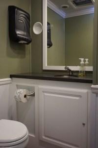 Small Elegant Restroom Trailer Rentals DE
