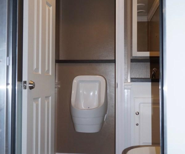 Small Elegant Portable Restroom Trailer Rentals DE