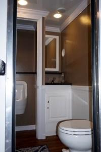 Small Elegant Portable Restroom Trailer Rentals Delaware