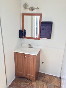 Medium female Restroom Trailer Rentals DE