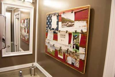 Patriotic Themed Restroom Trailer
