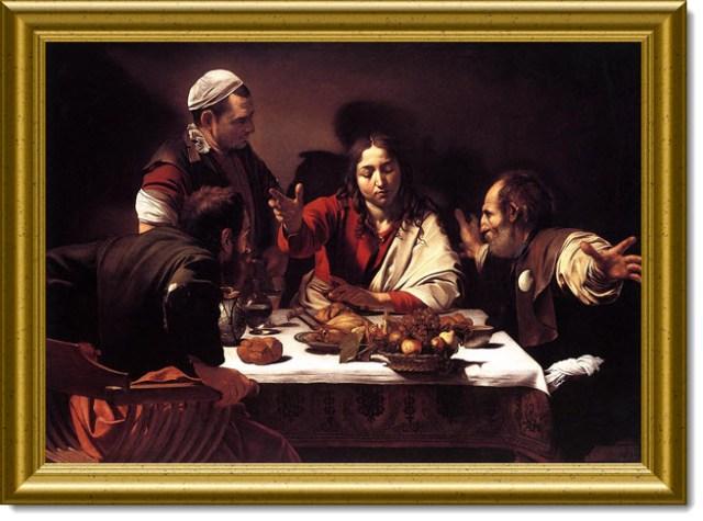 Caravaggio Emmaus