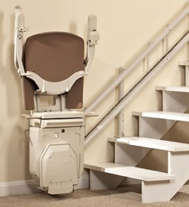Stannah curved stairlift type 2