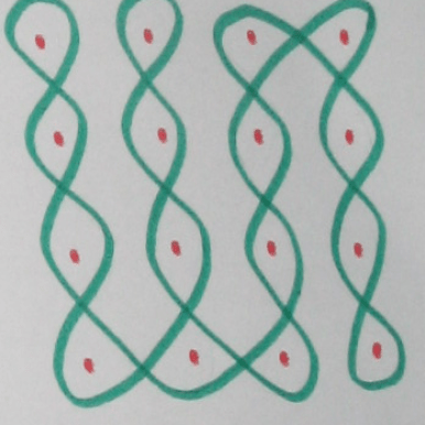 One line to connect all 16 dots