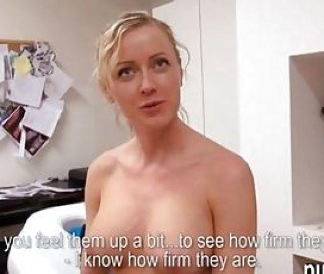 Busty Czech Slut Fucked In A Tattoo Room