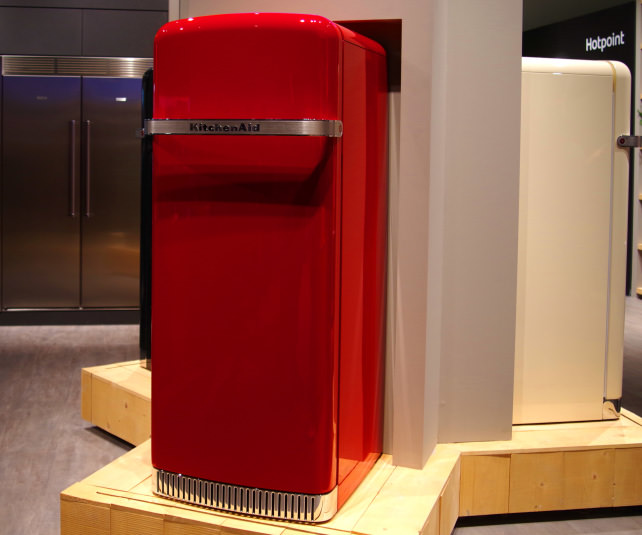 Kitchenaid Unveils Retro Refrigerators Europe Reviewed