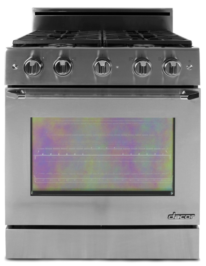 The Oven And Rangetop Are Controlled By Dials