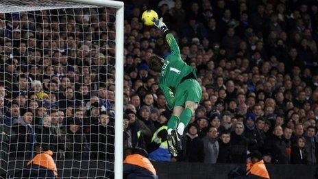 Блестящий сейв Давида де Хеа в конце матча Челси - Манчестер Юнайтед
