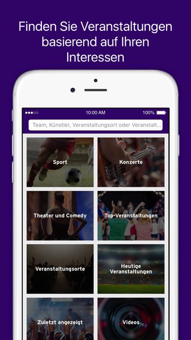 StubHub - Tickets für Konzerte, Theater, Festivals Screenshot