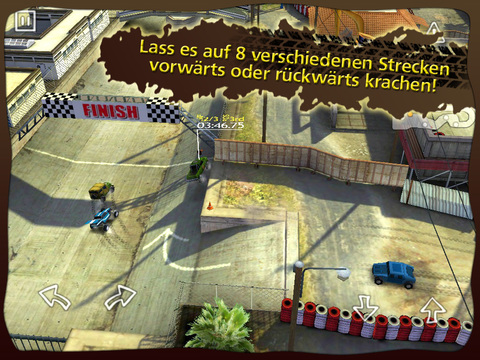 Reckless Racing HD Screenshot