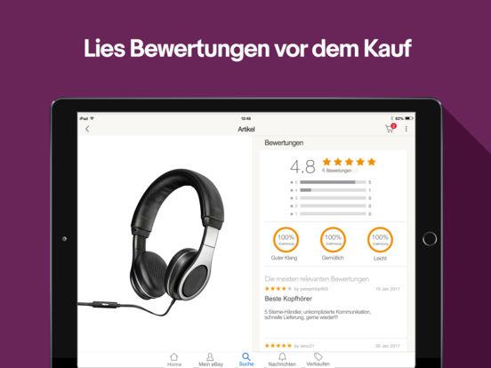 eBay: Kaufen, Verkaufen, Sparen! Shopping Angebote Screenshot