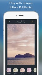 AURA - Camera Photo Editor: Filters, Frames & Text For Instagram.