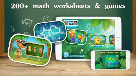 Cool Math Games for Kids & Toddlers by Kids Academy Co. apps- Review