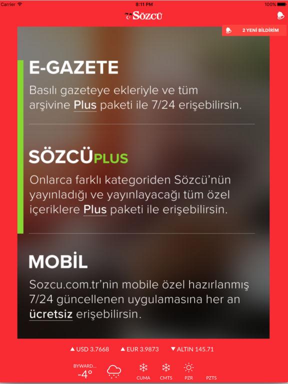Sözcü Gazetesi - Son Dakika Haberler ve Yazarlar Screenshot