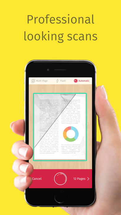 Scanbot 6 - PDF Document & QR-Code Scanner iPhone