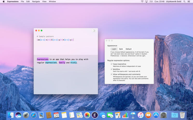 Expressions Mac 破解版 - 强大的正则表达式工具