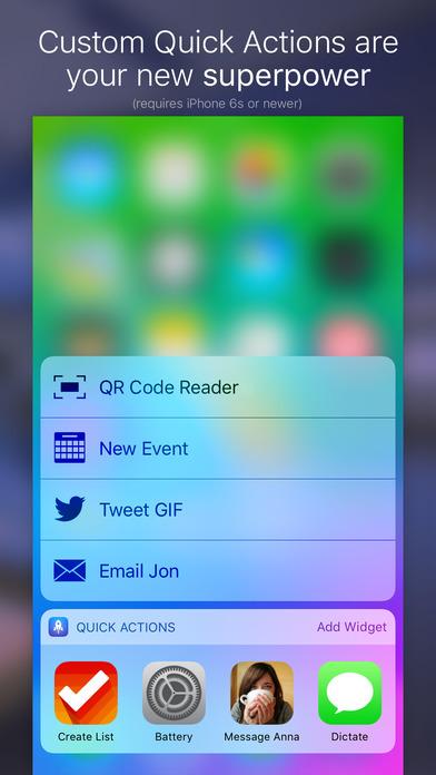 Screenshot do app Launch Center Pro - Shortcut launcher & workflows