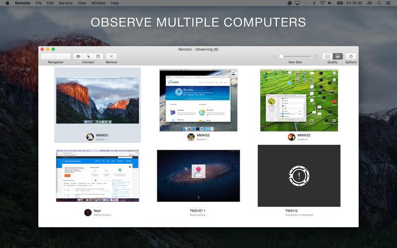 Remotix 5.1.1 Mac 破解版 - 优秀的远程桌面工具