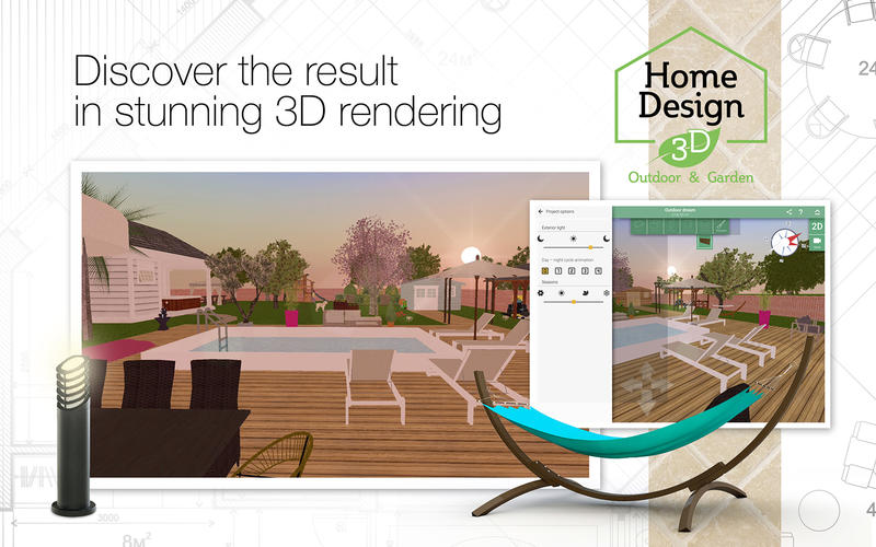 Home Design 3D Outdoor & Garden for Mac v4.0.2 激活版 - 3D室外布局设计工具
