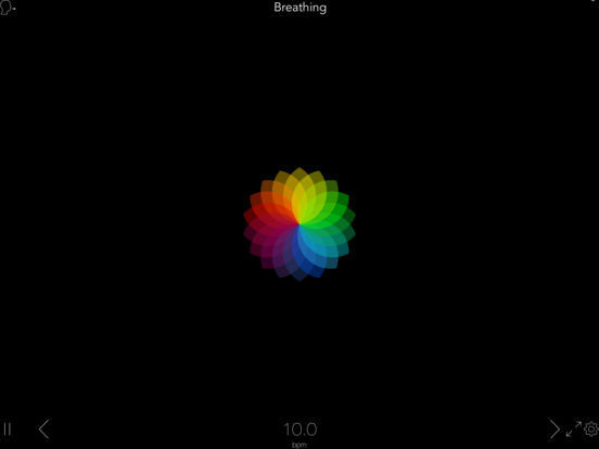Breathing Zone: Guided Breathing for Mindfulness iPad