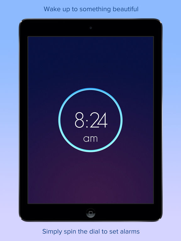 Wake Alarm Clock iPad