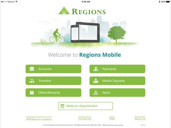 Regions Bank Deposit Log