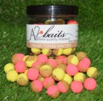70/30 Yellow and Fluro Pink Creamy Toffee Wafters