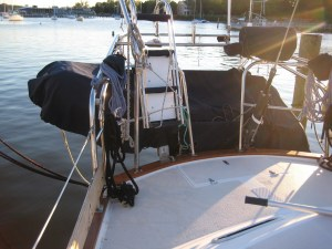 Ladder cover and dinghy cover