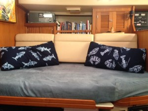Androsia Pillows on Mandala