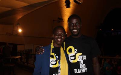 Arts to End Slavery Launch