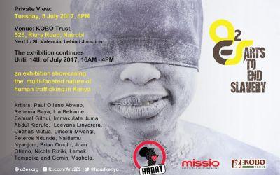 Arts to End Slavery 2017