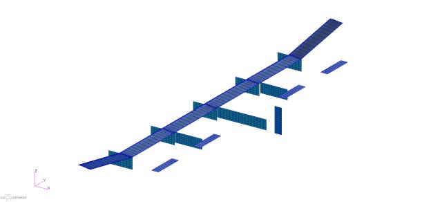 VLM model of the X-HALE