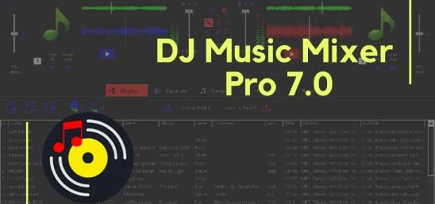 dj mixer professional crack free download