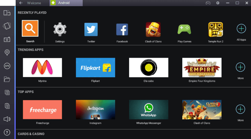 BlueStacks App Player 4.31.70.3401 Crack 2018 Download