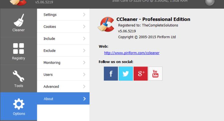 CCleaner Pro v5.48.6834 Crack