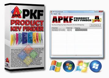 APKF Adobe Product Key Finder 2.5.4.0 Registration Code
