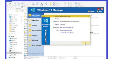 Windows 10 Manager 3.0.0 Crack With Keygen Latest Version Download