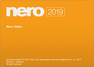 Nero Video 2019 v20.0.01600 Crack with Serial Number Download