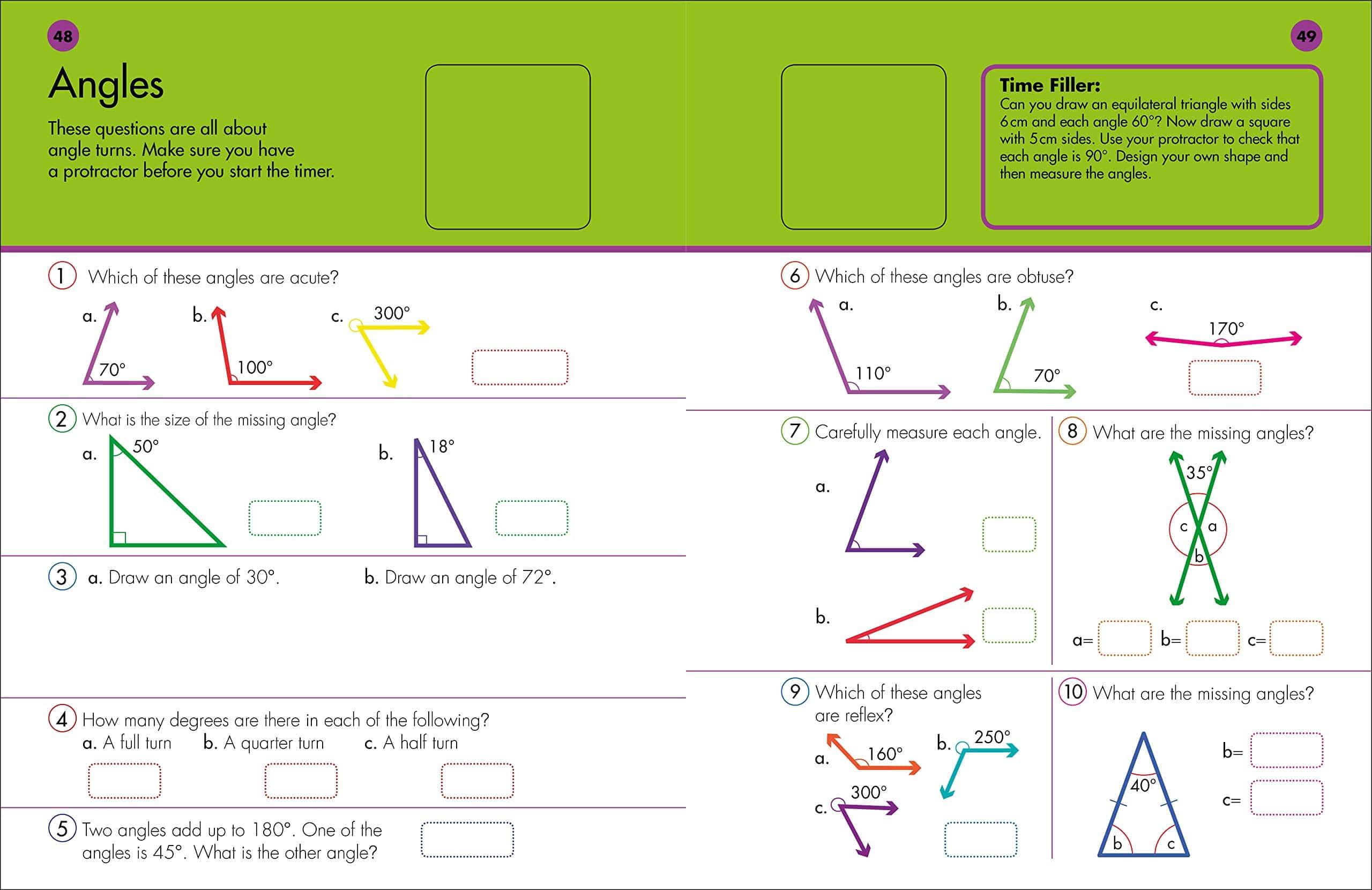 10 Minutes A Day Fifth Grade Math