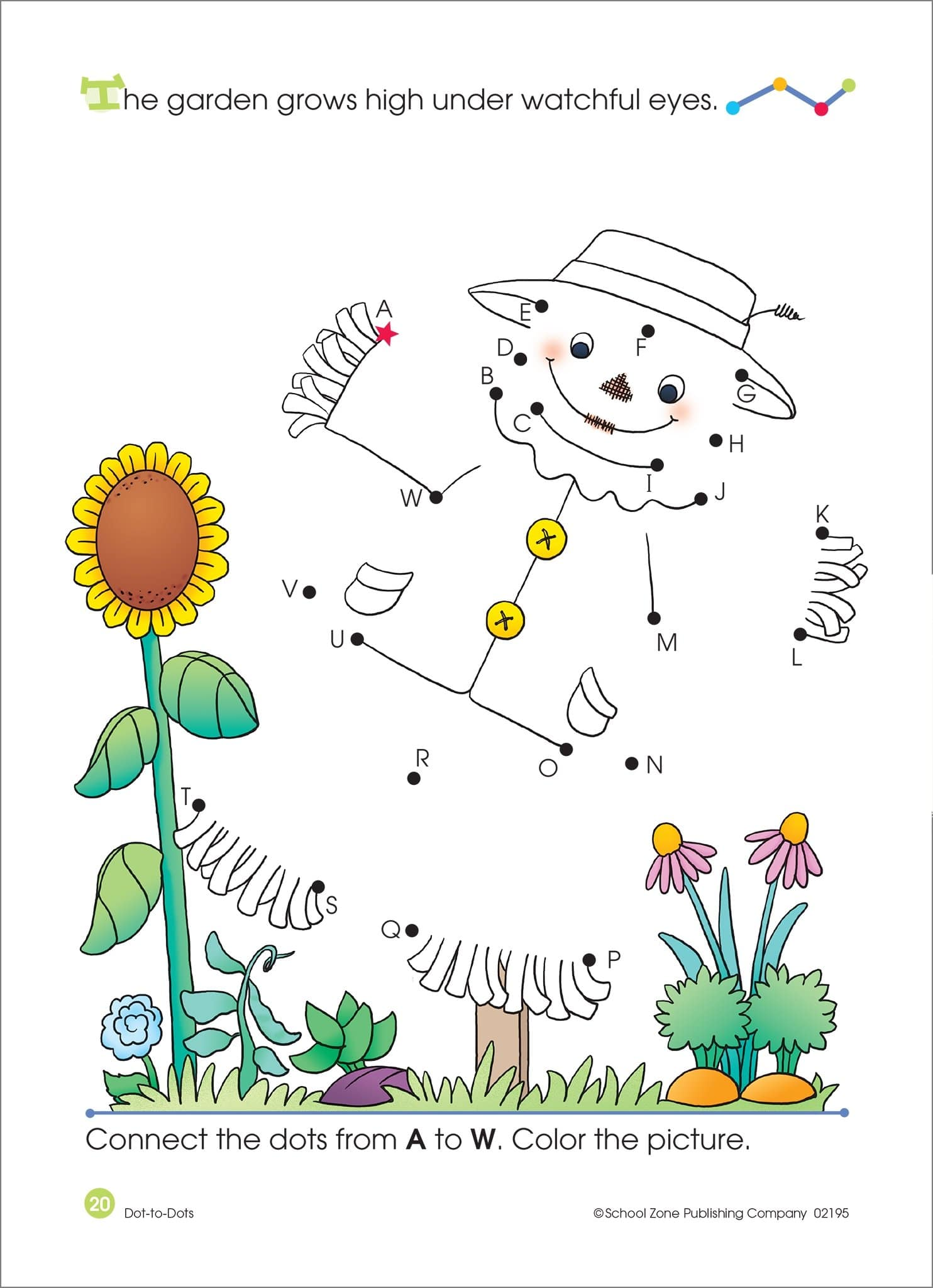 Dot To Dots Alphabet Activity Workbook