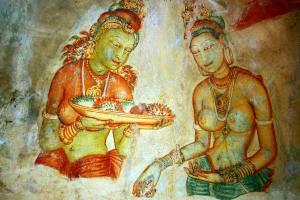 Ravishing Frescoes of Ceylon