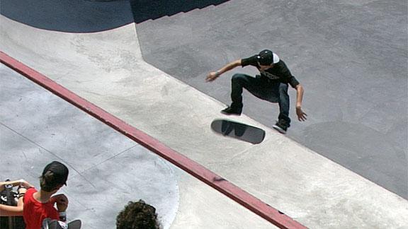 Luan Oliveira Skateboard Street Silver
