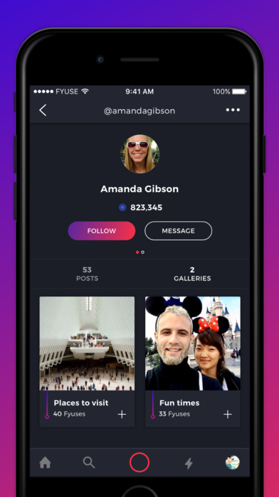 Fyuse - 3D-Fotos Screenshot